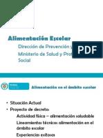 Presentacion Proyecto de Decreto