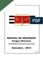 Manual Inscri Cao Cargos Diver Sos