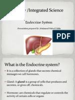 Endocrine System (CSEC Integrated Science)