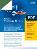 TrueImage10.0 Datasheet.eu