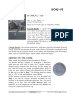 frisbee information