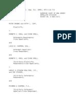 Grubbs NJ 376 N.J. Super. 420, (App. Div. 2005)