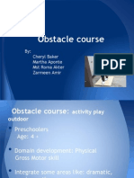 Obstacle Course Power Point