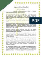 Biografía de Augusto César Sandino