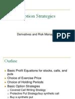 Option Strategies the Basic