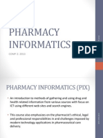 Concept of Medication Information and Its Evolution