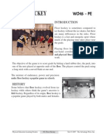 floor hockey packet