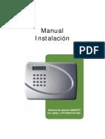Manual Instalador CTC-909 CTC-922 ES