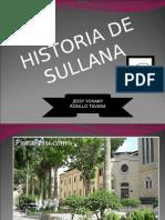 HISTORIA DE SULLANA