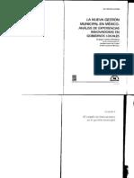 1La nueva gestión municipal en méxico. Analisis de experiencias innovadoras en gobiernos locales.
