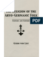 The Religion of the Aryo-Germanic Folk by Guido von List