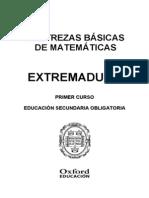 Destrezas Basicas de Matematicas 1 Eso Extremadura