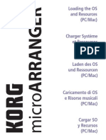 MicroARRANGER Loading OS and Resources
