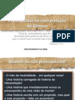 Pressupostos na interpretação de Gênesis - Mauro Meister