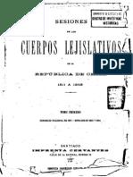 Sesiones Cuerpos Lejislativos v.1