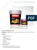Belazo Roof Paint
