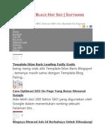 Cara Optimasi Off Page Blog