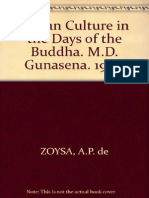 Zoysa, A. P. de - Indian Culture in the Days of the Buddha (138p).pdf