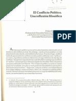 Serrano El conflicto político