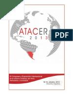 Libro de Actas ATACER 2013