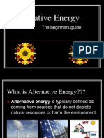 Beginners Guide to Alternative Energy