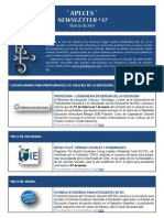 APECES - Newsletter No 17 - Marzo 2014