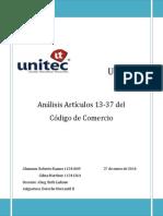 Artículos 13 al 37
