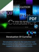 Devaluation of Pak
