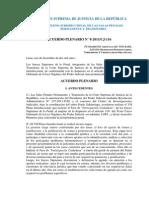Acuerdo Plenario N° 8-2011-CJ-116 Beneficios Penitenciarios, Terrorismo y Criminalidad Organizada