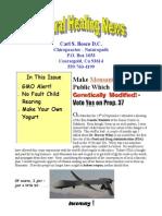 10 october newsletter 2012