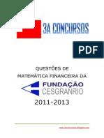 questoesdematematicafinanceira-cesgranrio-2011-2013-140108201057-phpapp02