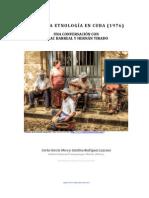 Etnologia en Cuba-libre