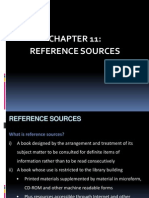 Chap 11 - Reference Sources