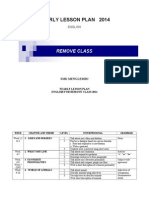Yearly Lesson Plan English for Remove