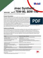 Mobil Delvac Syn Gear Oil 75w90-80w140