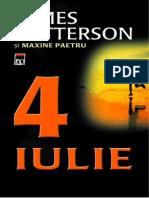 Patterson, James & Paetro, Maxime - 4 Iulie (v.2.1)
