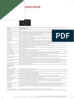 Datenblatt M Monochrom e 11-2013