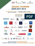 Programma Sardegna Tourism Career Day 6 7 Marzo 2014