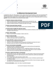 List of MDGs English