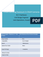 Understanding Exposure in DSLR Cameras