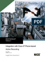Cisco IP Phone Integration