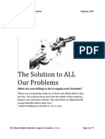What is the Solution to ALL Your Problems (Update) (1)