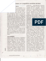 Article Ouest France 2 Mars 2014