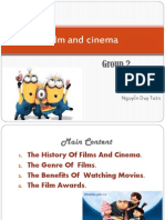 Film and Cinema of Group 2.