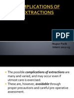 Complications of Extractions
