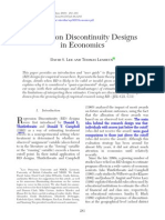 Regression Discontinuity Designs in Economics