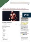 Bill Goldberg Workout Routine _ Muscle and Brawn