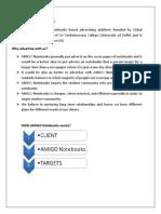 AMIGO Notebooks Proposal