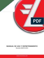 Manual Uso y Entretenimiento Rev. Mayo 2013