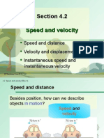 Section 4.2 Speed and Velocity
